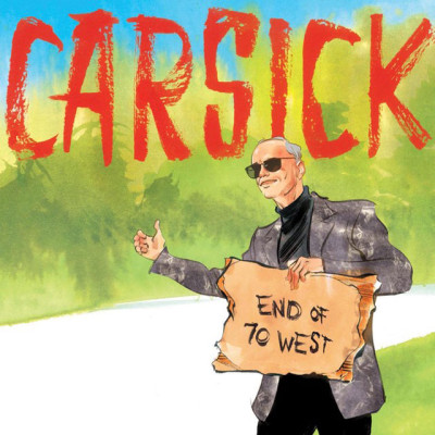 Carsick by John Waters book cover