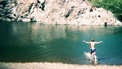The campground for Hickey Fest will be located at a bend on the Eel River, offering festival-goers a swimming hole in which to cool off. Photo by Ginger Fierstein.