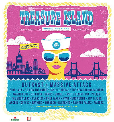 Treasure Island Music Festival 2014