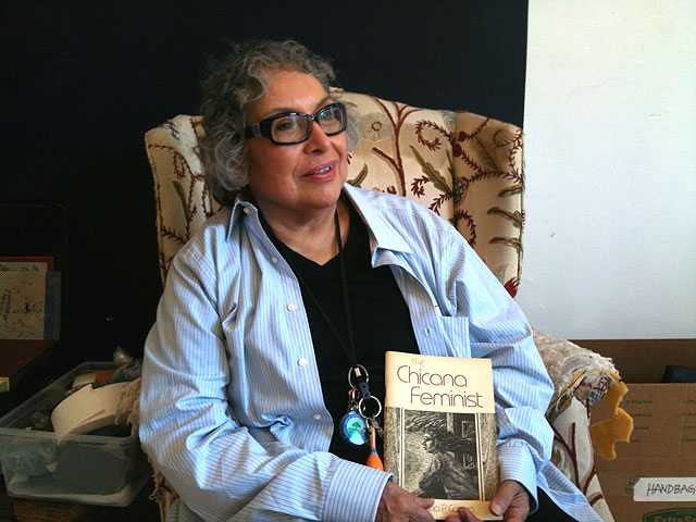 Yolanda M. López, Red Poppy Art House, June 29, 2014