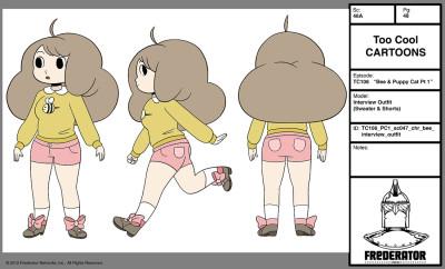 Natasha Allegri, Bee Character Design, 2013