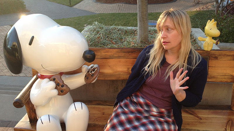 Comic artist Janelle Hessig gets upfront with Snoopy