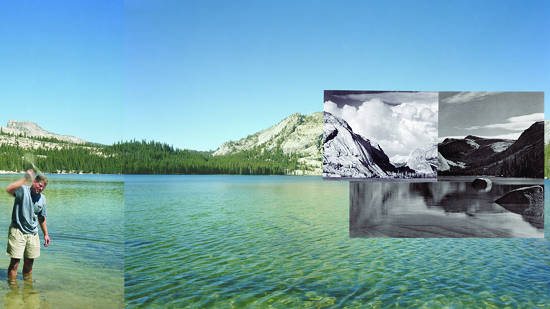 Mark Klett and Byron Wolfe, Four Views from Four Times and One Shoreline, Lake Tenaya