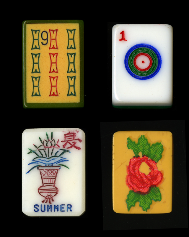 Vintage mah jongg tiles, n.d. Courtesy the Museum of Jewish Heritage—A Living Memorial to the Holocaust.