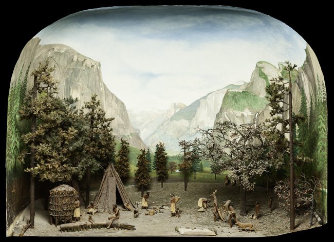 A. J. Andrews, Yosemite Indian Village Diorama