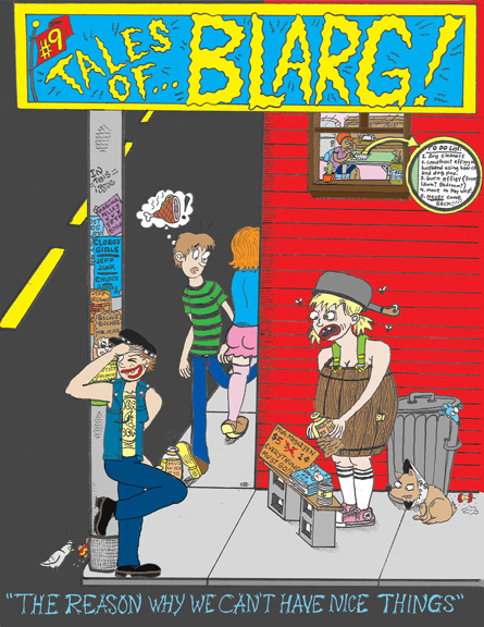 "Cover of ""Tales of Blarg"" issue 9, from 2007"