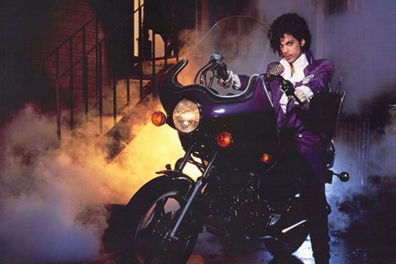 Prince on Purple Rain poster