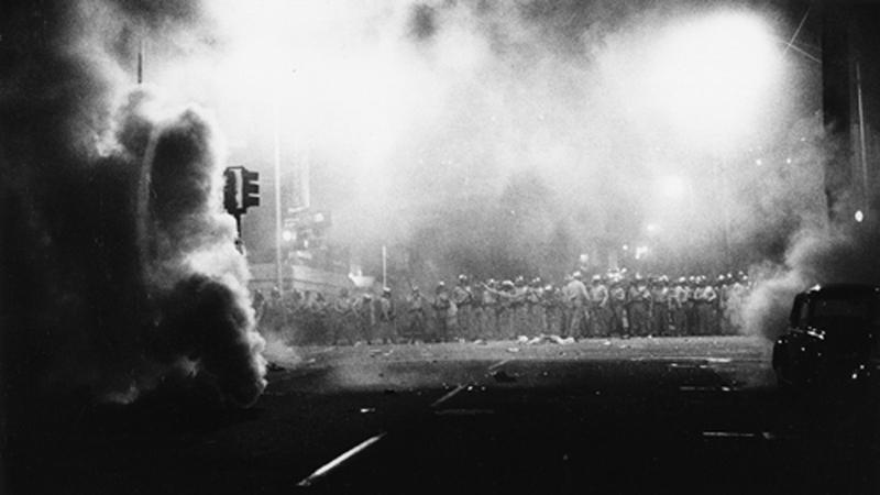 Jeffrey Blankfort,  People's Park -1 Telegraph Avenue,  Berkeley, 1969