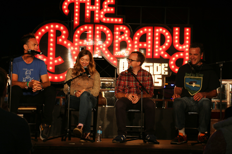 Improv4Humans (L to R): Seth Morris, Lauren Lapkus, Chris Gethard, Matt Besser
