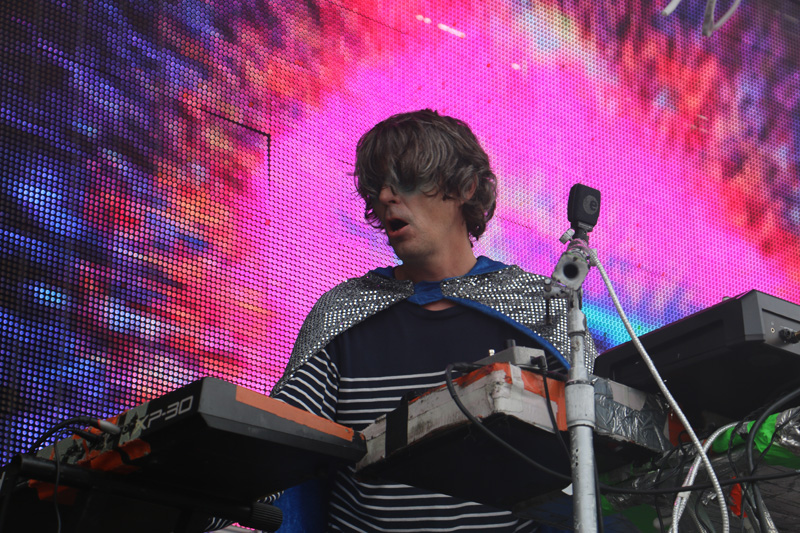 Steven Drozd of the Flaming Lips