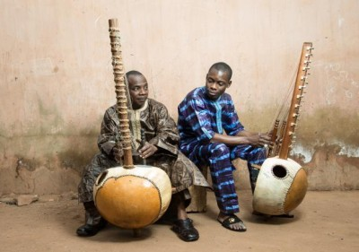 Toumani Diabate and son