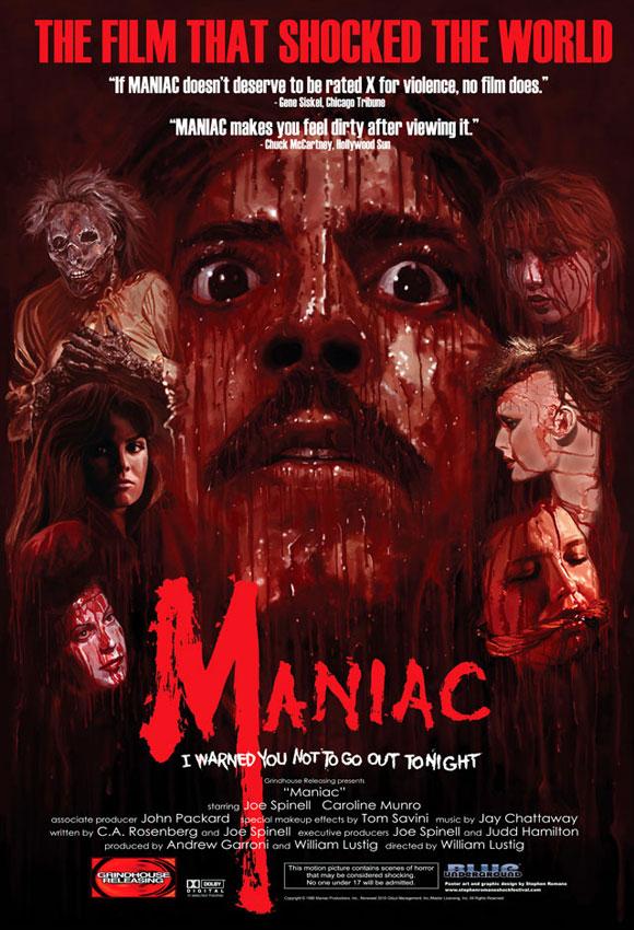 1980 Maniac poster