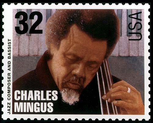 charles mingus stamp