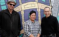 (l-r) David Wiegand, Suzie Racho, Cy Musiker