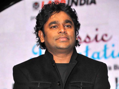 A.R.Rahman at 57th FF Awards; Photo courtesy  www.bollywoodhungama.com via Wikimedia Commons