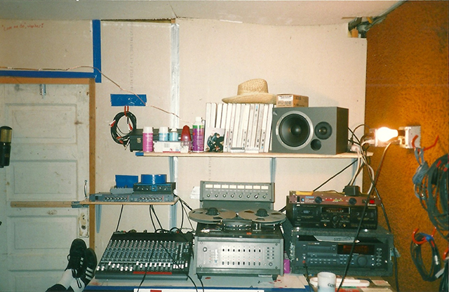 Linton's home studio in San Francisco