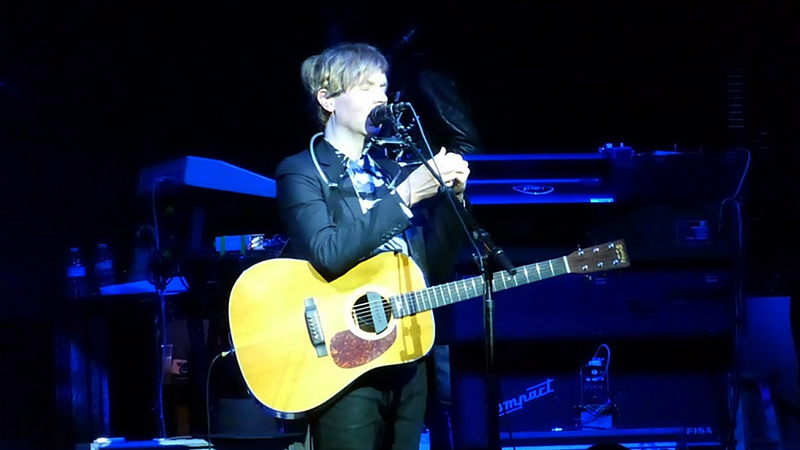 Beck live at the Nob Hill Masonic Auditorium