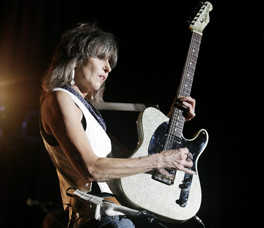 Chrissie Hynde 2013; Photo by Harmony Gerber, licensed under Creative Commons via Wikimedia Commons