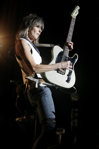 Chrissie Hynde; Photo by Harmony Gerber via Wikimedia Commons