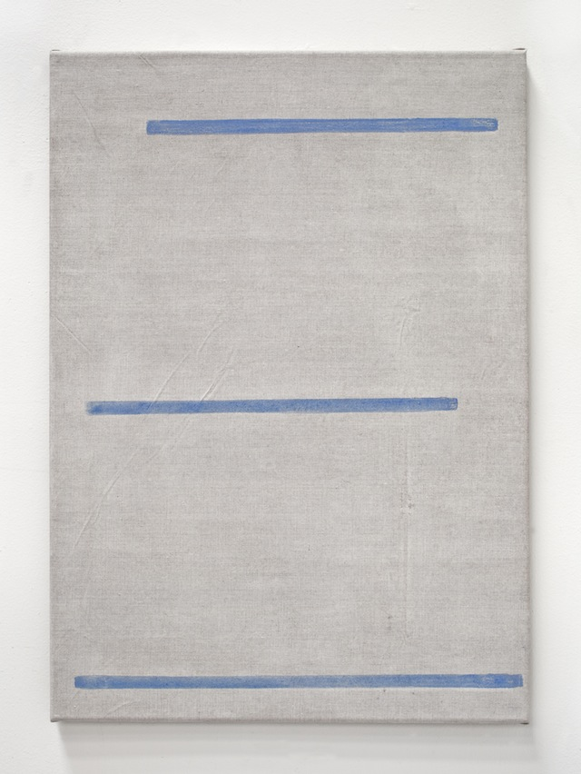John Zurier, <i>Héraðsdalur 13 (Avalanche)</i>, 2014; distemper on linen; 27 1/2 x 19 5/8 in. Courtesy of the artist and Peter Blum Gallery, New York.