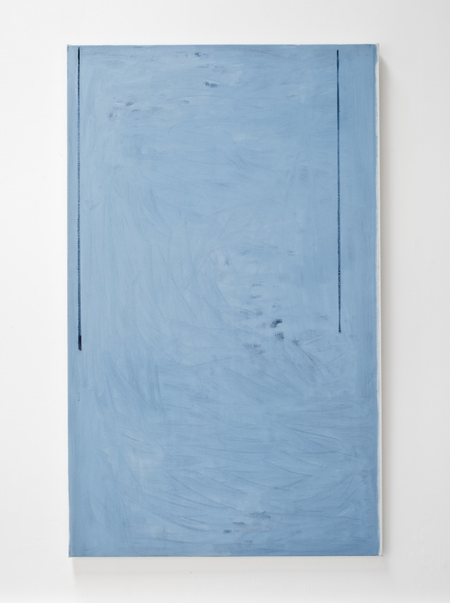 John Zurier, <i>Summer Still (The Same Shadow)</i>, 2014; oil on linen; 72 x 44 in. Courtesy of the artist and Peter Blum Gallery, New York.