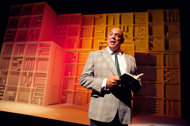 Michael Anthony Torres in Crowded Fire Theater's world premiere of The Late Wedding.