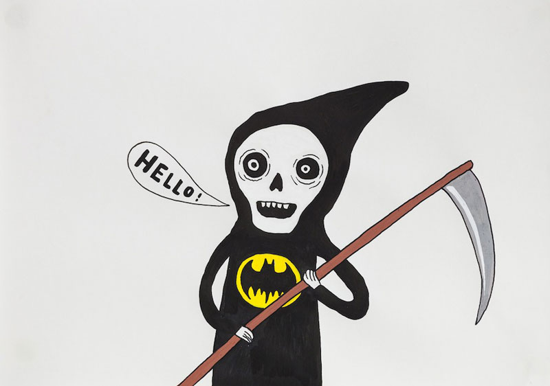 Laurina Paperina, Hello Death; Courtesy Fouladi Projects, SF