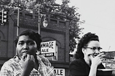 "Robert Frank.  ""Detroit, 1955"""