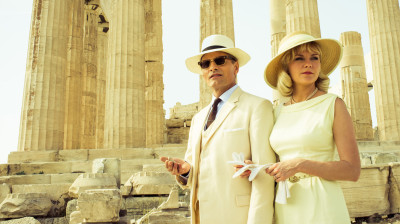 Viggo Mortensen and Kirsten Dunst star as Chester and Colette MacFarland in The Two Faces of January.