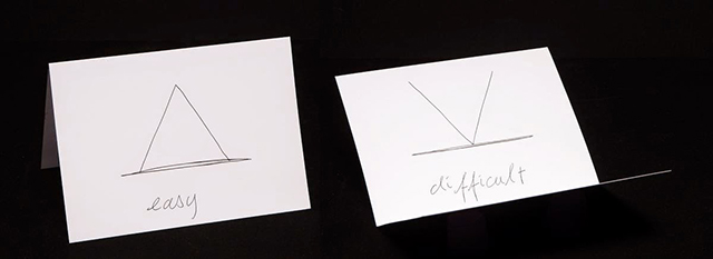 Claude Closky, <i>Easy-Difficult</i>, 2012; Image courtesy Fine Arts Museums of San Francisco