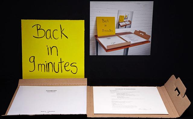 Dina Danish, <i>Back in 9 Minutes</i>, 2012;  Image courtesy Fine Arts Museums of San Francisco