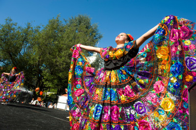 The Oakland Museum of California's Día de los Muertos celebration. (Photo: Shaun Roberts)
