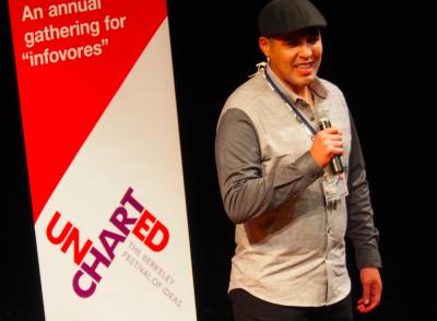 Vincent Medina Jr., Uncharted 2014, October 24, 2014; Photo by Nancy Rubin