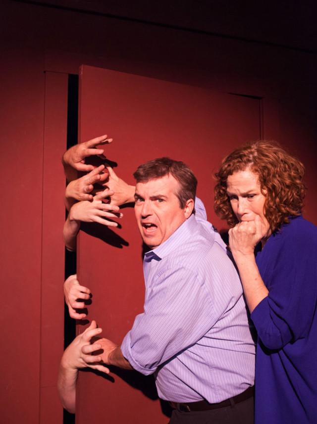 BATS Improv's Horror Zombie Serial; photo: Stephanie Pool.