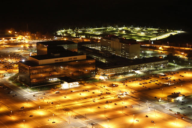 National Security Agency  (NSA): With a budget request of $10.8 billion, the NSA is the second-largest agency in the U.S. intelligence community. It is headquartered in Fort Meade, Maryland; Photo by Trevor Paglen
