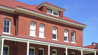 The Society of California Pioneers' new location at San Francisco's Presidio: Pioneer Hall