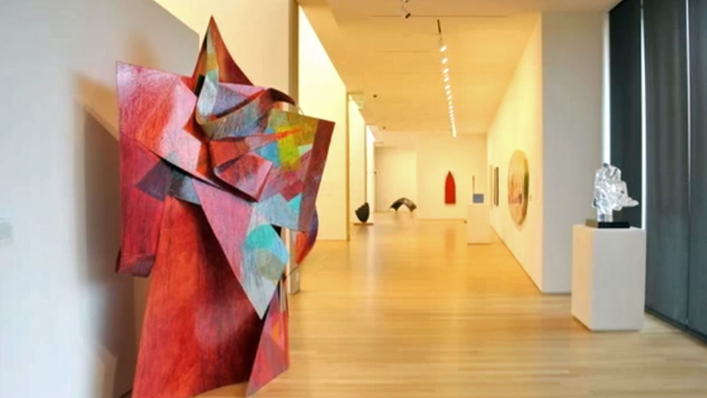 The Anderson Collection is now open on Stanford's campus. (Miranda Shepherd)