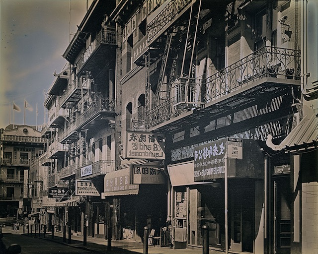Binh Danh. <i>B and C Laundromat Barbary Coast Trail, Chinatown</i>, 2014; daguerreotype. Courtesy of the Artist and Haines Gallery.
