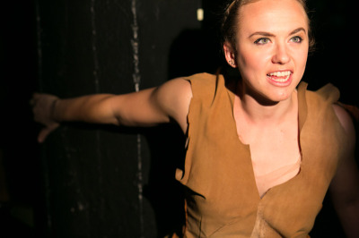 Lindsey Schmeltzer in The Dragon Play at Impact Theatre.