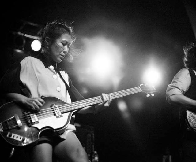 Satomi Matsuzaki featured above, photo courtesy of band's Facebook page.