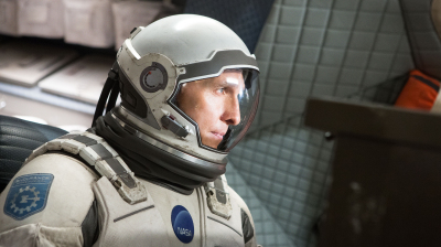 Matthew McConaughey in Interstellar.