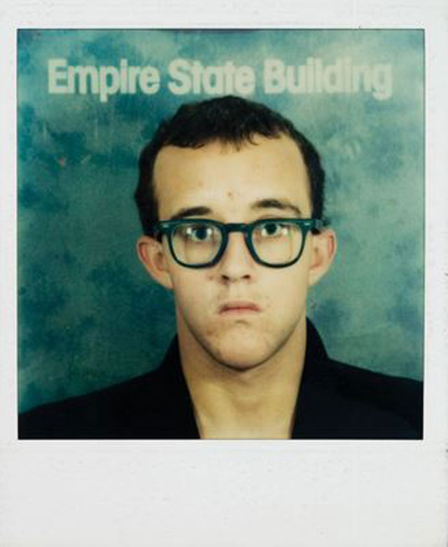 Keith Haring, self-portrait, 1980–81; Collection of the Keith Haring Foundation