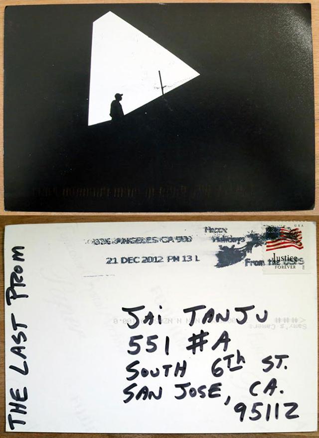 Print Exchange postcard