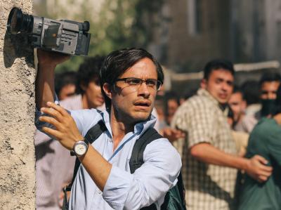 Gael Garcia Bernal plays Maziar Bahari in Rosewater, Jon Stewart's directorial debut.