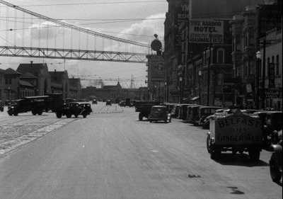 San Francisco's Embarcadero in 1937.  Courtesy of the Prelinger Archives.