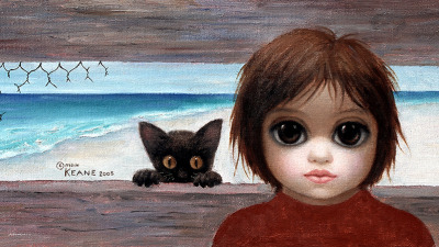 It's Playtime by Margaret Keane, 2005