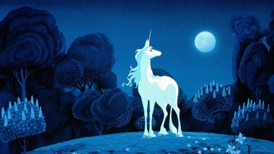 Author Peter S. Beagle appears at each upcoming screening of the 1982 children's classic, 'The Last Unicorn.'