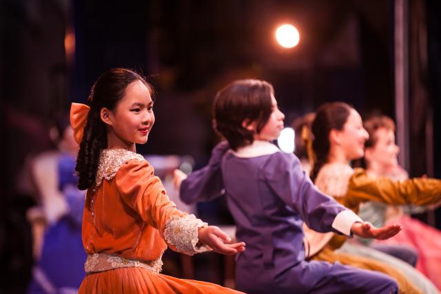 San Jose Ballet in The Nutcracker; Photo by Quinn B. Wharton