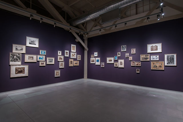 The Archive of Modern Conflict, Collected Shadows (Installation View 2014); Courtesy Pier 24 Photography, San Francisco
