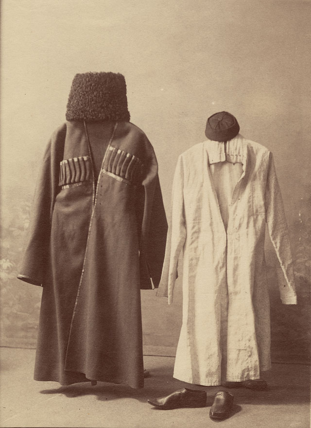 Dimitri Ivanovich Ermakov, Georgian costumes , 1880s; Courtesy The Archive of Modern Conflict and Pier 24 Photography, San Francisco